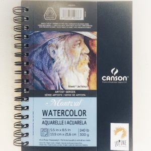 Canson Montval Watercolour Sketchbook